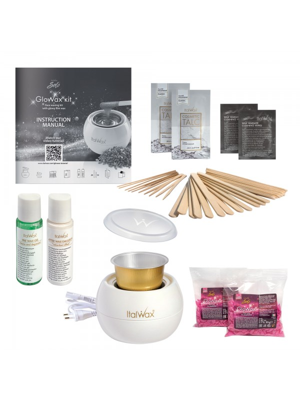 Italwax Glo wax kit, depilation for face