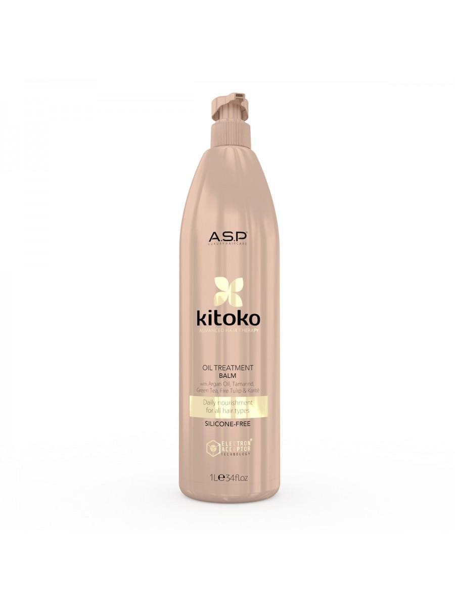Kitoko Oil Treatment Hydrating & Regenerating Balm 1000 ml 388 HAIR CARE