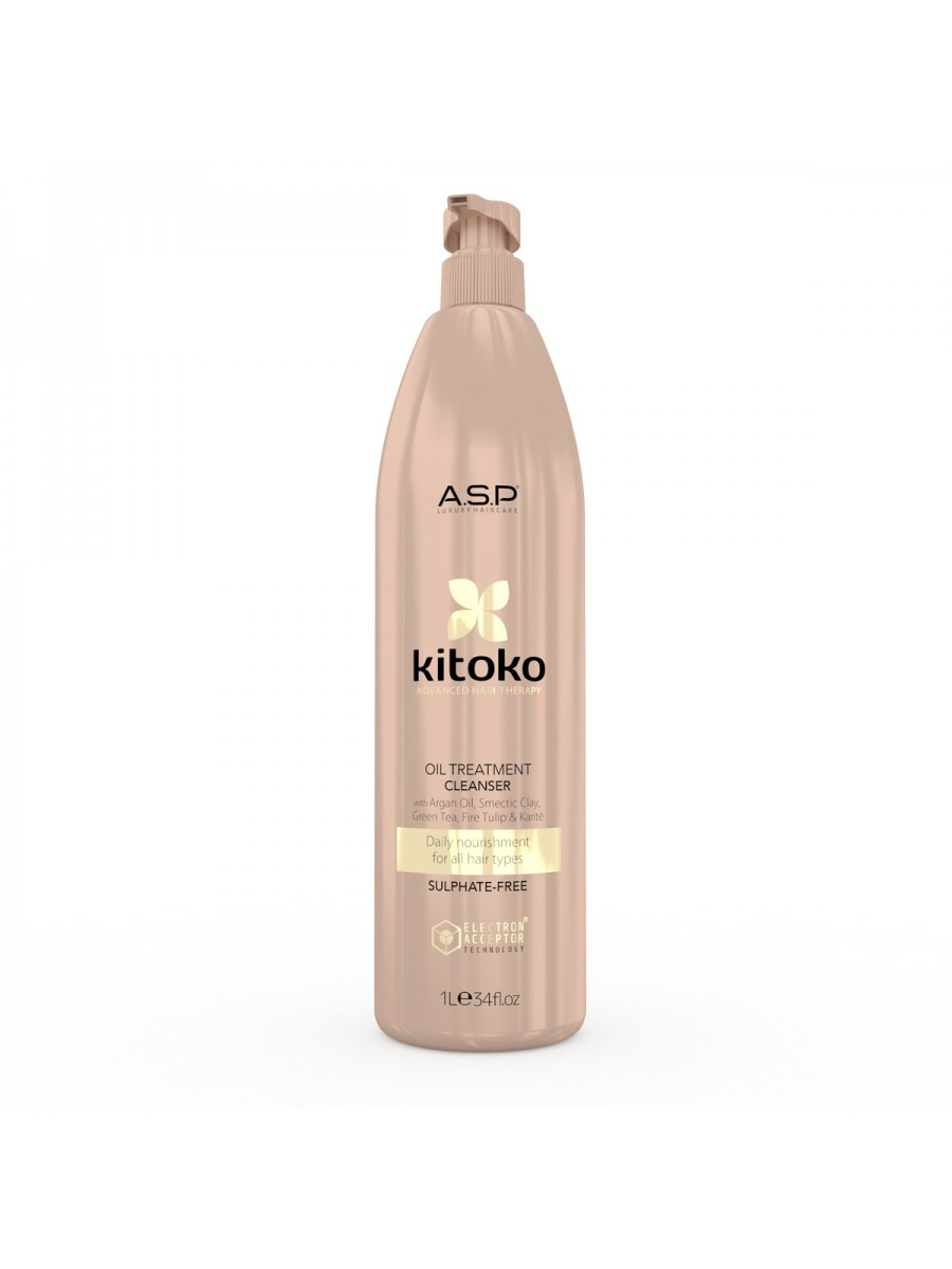 Kitoko Oil Treatment Hydrating & Regenerating Cleanser 1000 ml 387 HAIR CARE
