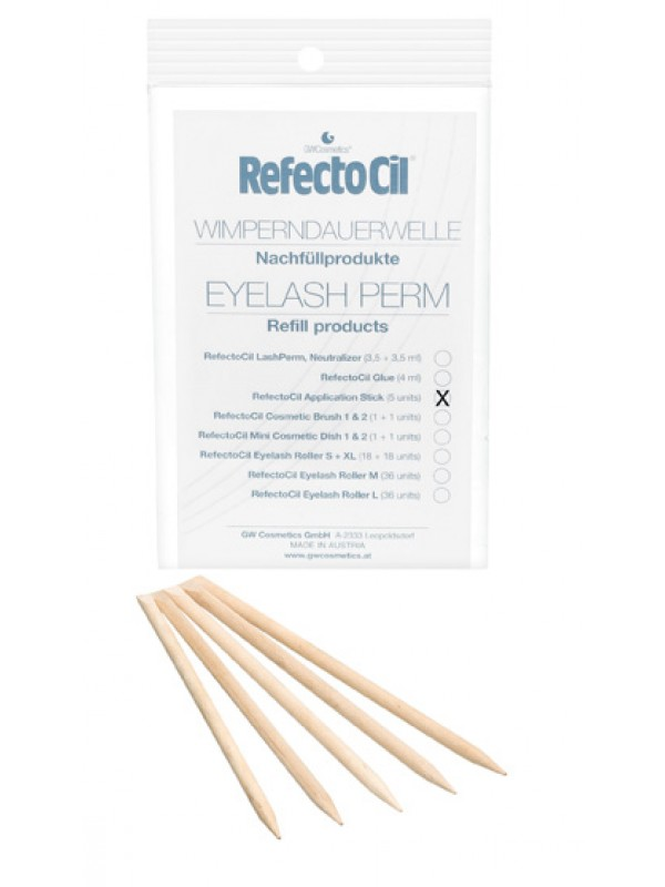 RefectoCil Rosewood Sticks 5pcs