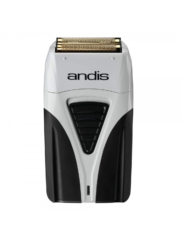 Andis Profoil Titanium foil shaver + stand-up charging stand
