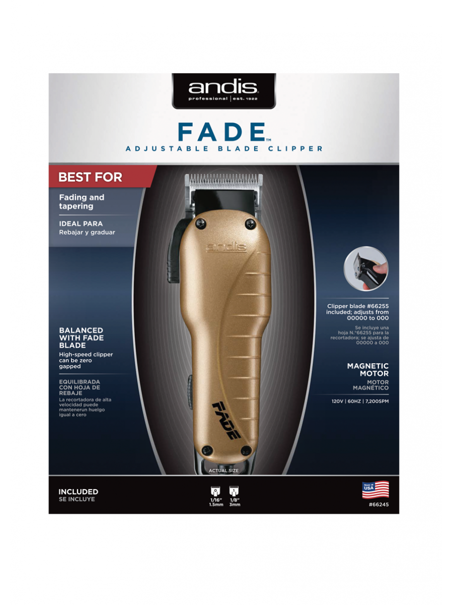 ANDIS FADE CLIPPER 3710 ELECTRICAL BEAUTY PRODUCTS