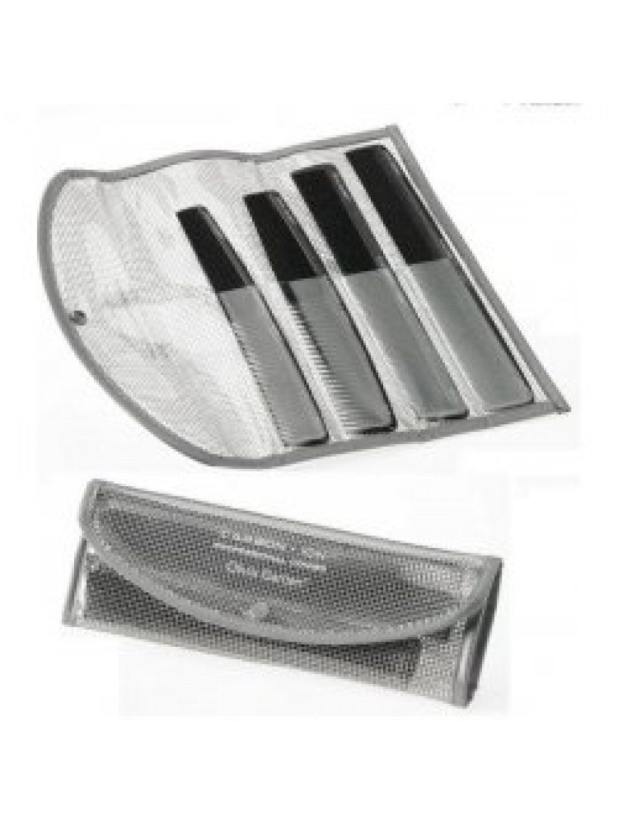 OLIVIA GARDEN CARBON + ION CARBON+ION POUCH WITH 4 SC COMBS 3010247 COMBS