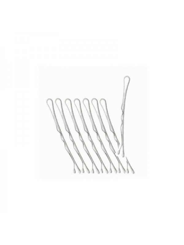 Professional hairgrips  51 mm, 330 pcs, white